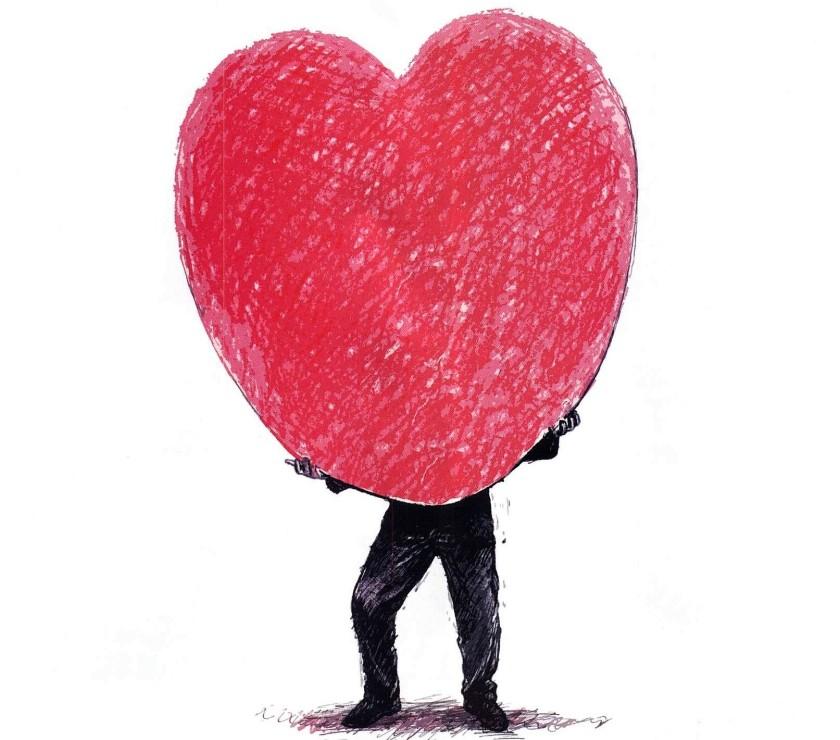 O amor é cego - midia