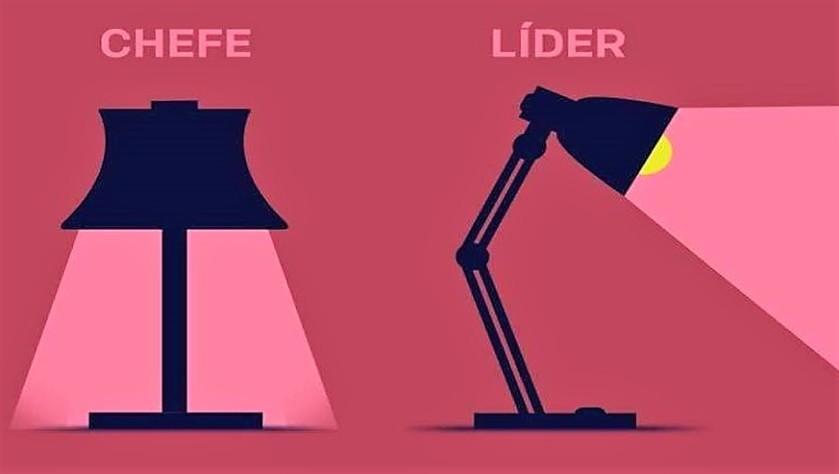 A diferença entre chefes de verdade e verdadeiros lideres