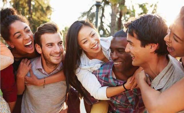 Amigos são essenciais.2