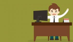 Sinais de infelicidade no trabalho