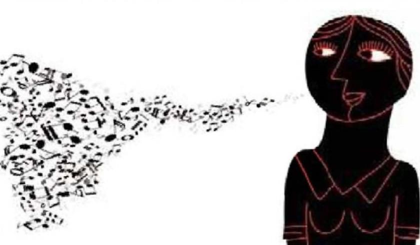 e aquela canção não sai da cabeça...