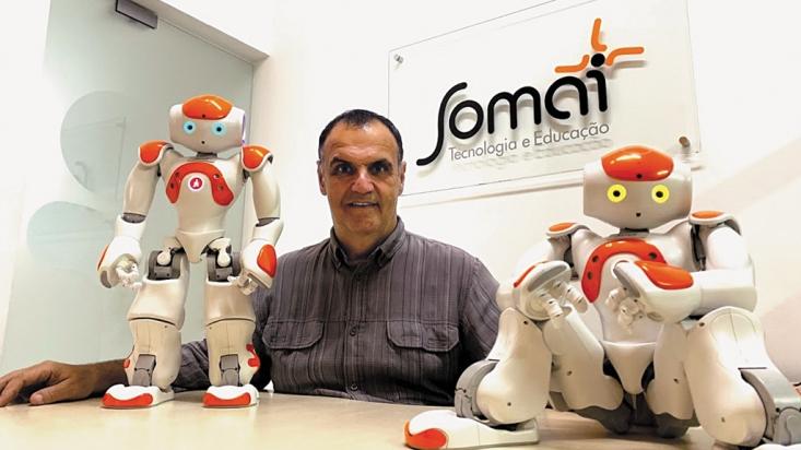 Educação lidera startups brasileiras. 3