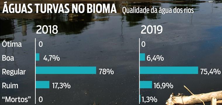 """Contaminação """"mata"""" rios da Mata Atlântica. 2"""