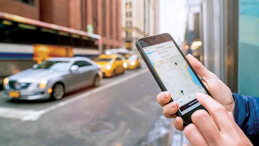 A maior corrida da Uber