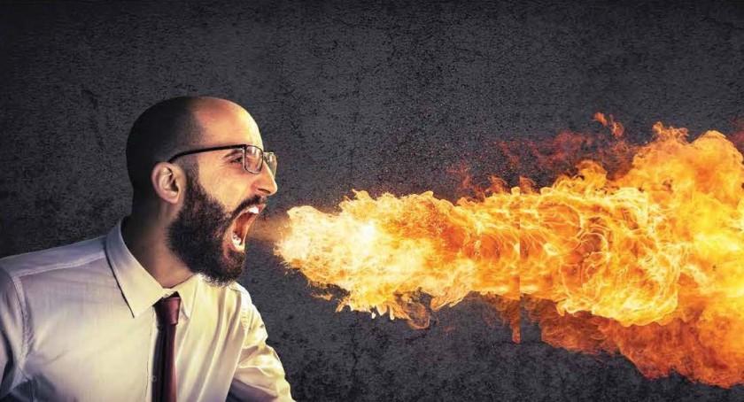 Quando explode a raiva