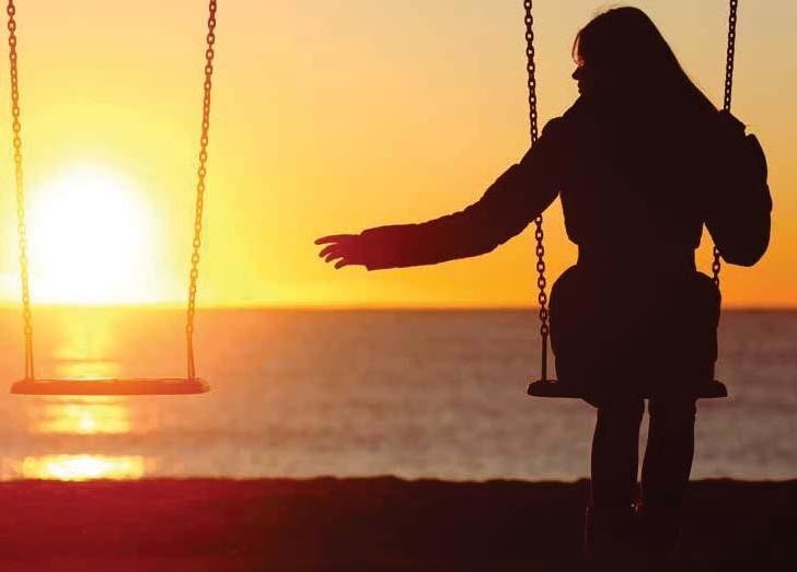 Dificuldade em superar a viuvez